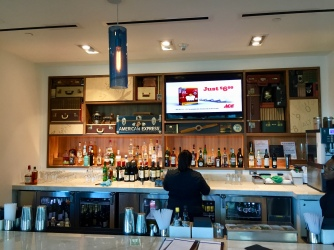 The Bar at the Centurion Lounge DFW
