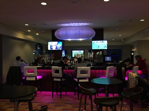 Downstairs bar at the Renaissance LAX