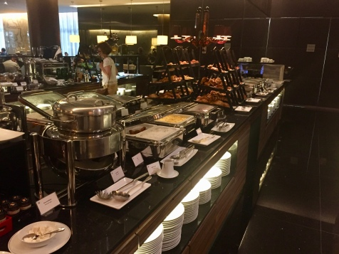 Additional selections at the breakfast buffet