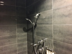 Shower suite at the LAX T5 Admirals Club