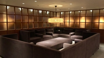 Section of couches in quit area
