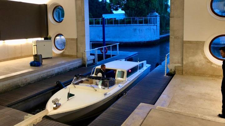 JW Marriott Venice Water Taxi Dock