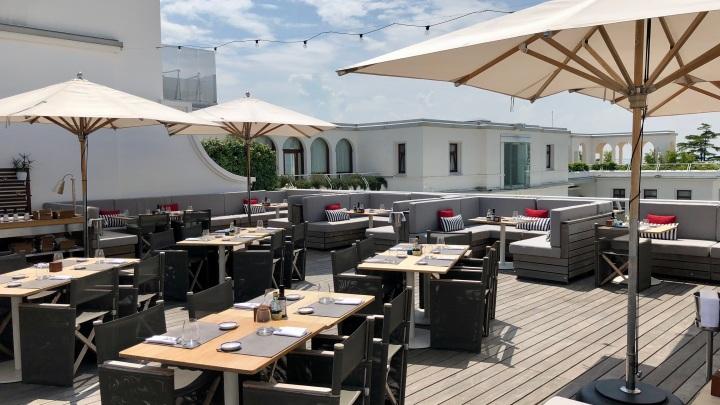 Sagra Rootftop Restaurant at the JW Marriott Venice