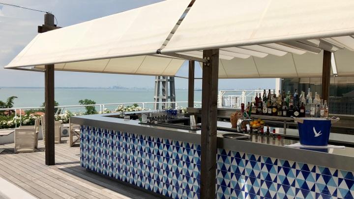 Sagra Rooftop Bar at the JW Marriott Venice