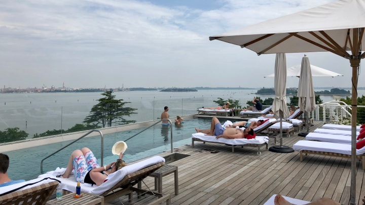 JW Marriott Venice Rooftop Pool