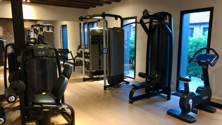JW Marriott Venice gym equipment