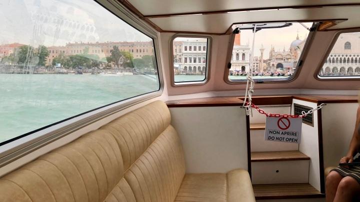 JW Marriott Venice Shuttle Boat